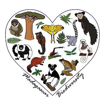 Madagascar Biodiversity Heart by wildlifeandlove
