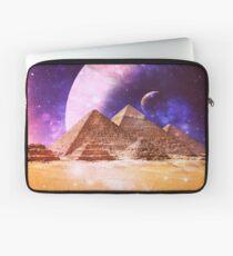 Space Pyramids Laptop Sleeve