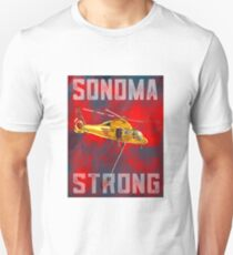 33544a1d5 SONOMA STRONG HELO Unisex T-Shirt