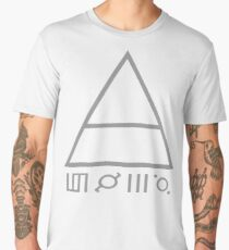 30 seconds to mars lgo Men's Premium T-Shirt