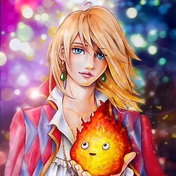 Howl and Calcifer by Dacdacgirl