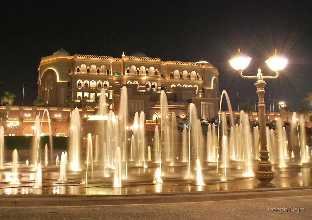 Emirates Palace by Joseph Najm