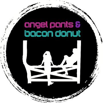 Angel Pants & Bacon Donut by schmamsw