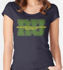 Raxacoricofallapatorius University Women's Fitted Scoop T-Shirt