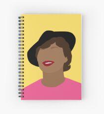 Zora  Spiral Notebook