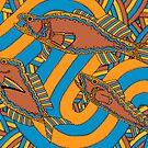 Aarli - (school of fish) irralb season (autumn) by sekodesigns
