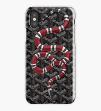 Snake Black Goyard iPhone Case/Skin