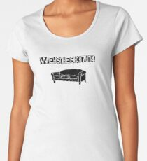 WE:S1:E9:37:14 Women's Premium T-Shirt