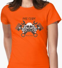 RAT LOOK , Hot Rod, car club Women's Fitted T-Shirt