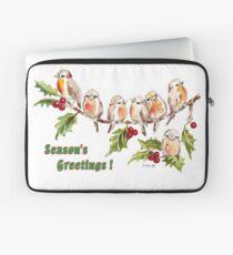 Season's Greetings!  7 Little Birds Laptop Sleeve