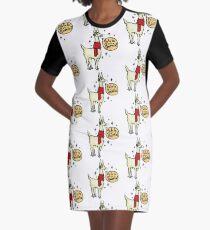 Fa La La Lama T-Shirt Kleid