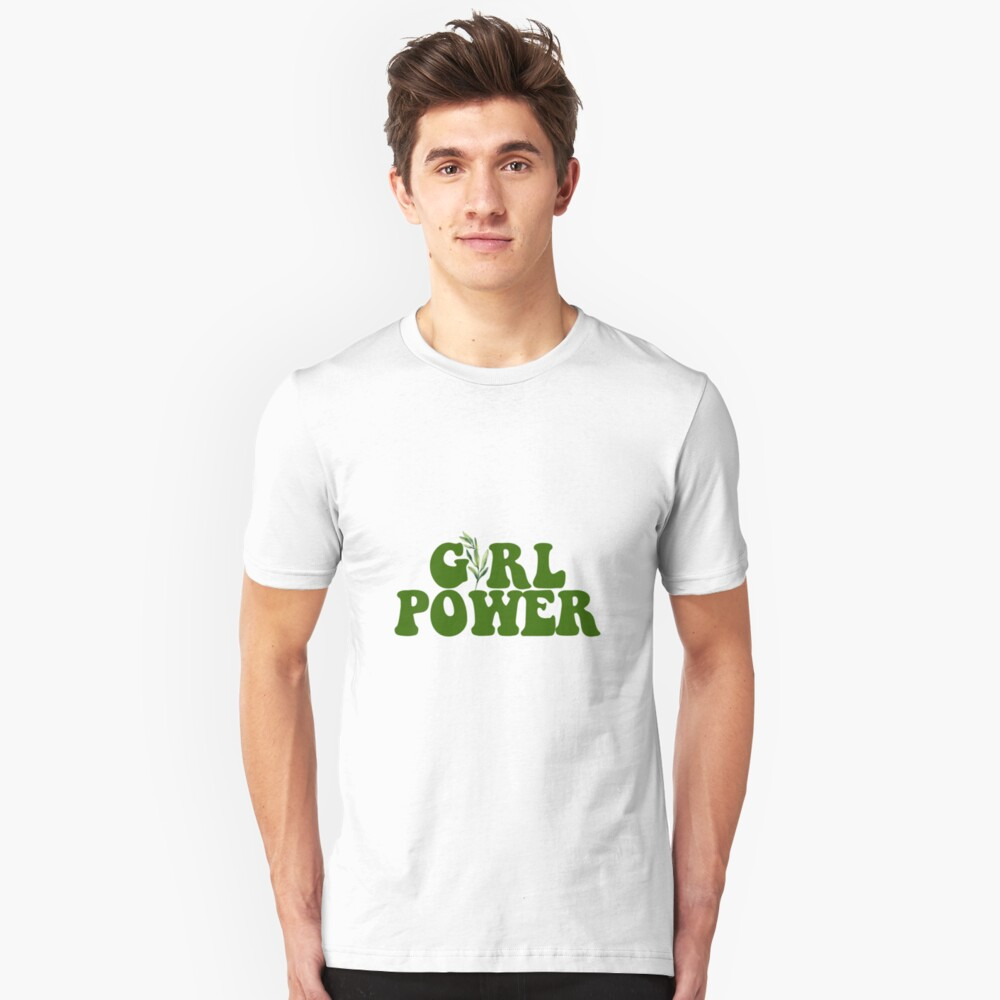 GIRL POWER - Estilo 10 Camiseta ajustada