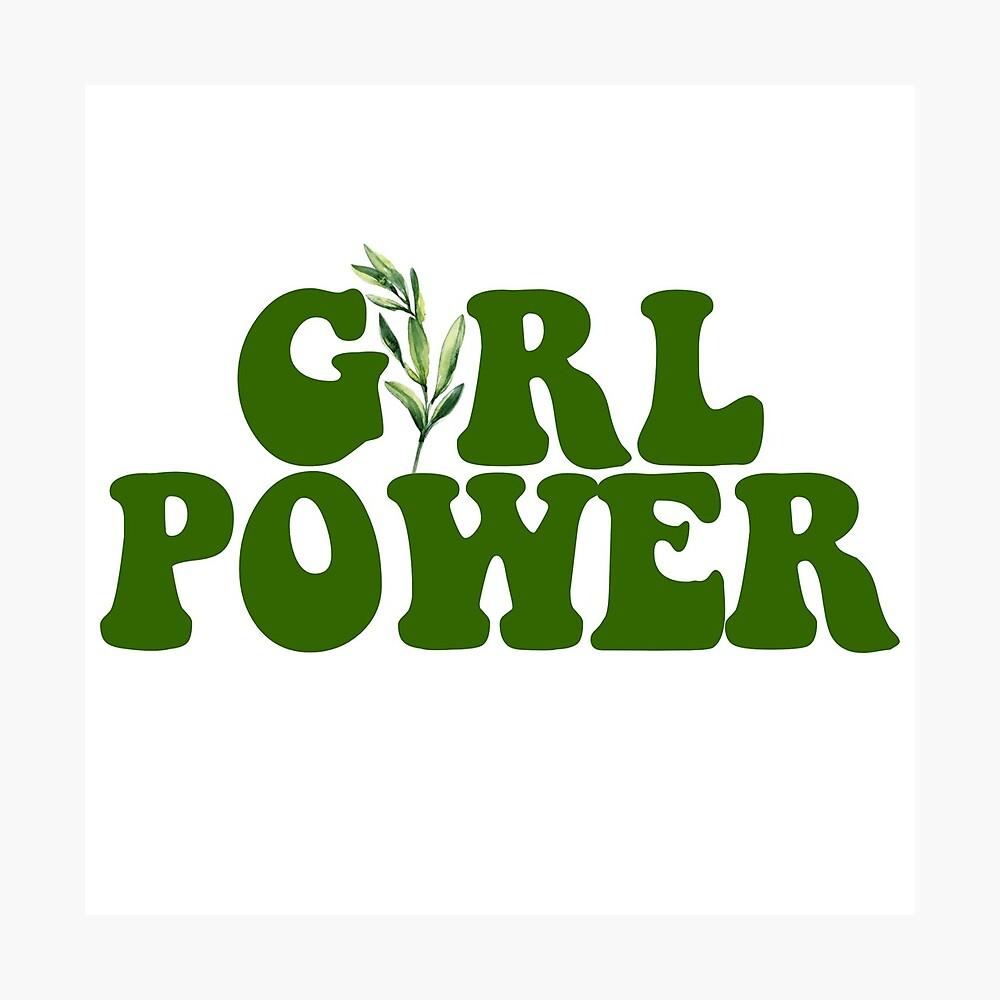 GIRL POWER - Estilo 10 Lámina fotográfica