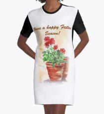 Have A Happy Festive Season! Graphic T-Shirt Dress