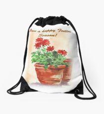 Have A Happy Festive Season! Drawstring Bag