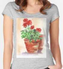 Have A Happy Festive Season! Women's Fitted Scoop T-Shirt