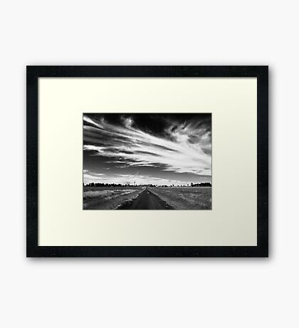 My View of Twenty Five October - Morning (South) Framed Print