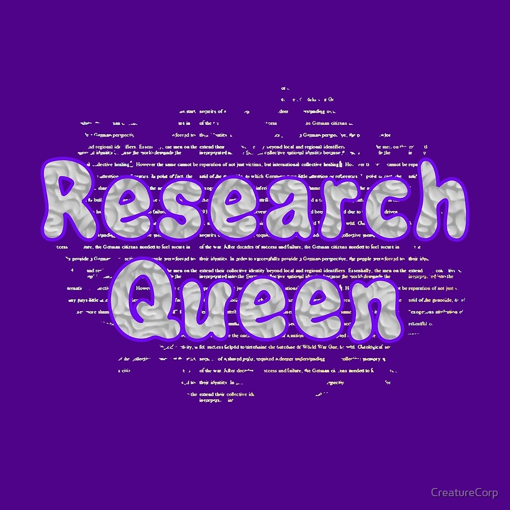 Research Queen by CreatureCorp