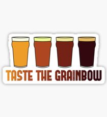 Taste the Grainbow Sticker