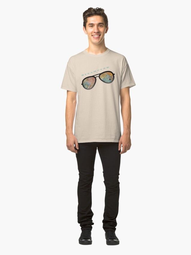 Alternate view of STEAMPUNK SUNGLASSES  Classic T-Shirt