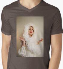 The Swan Maiden V-Neck T-Shirt