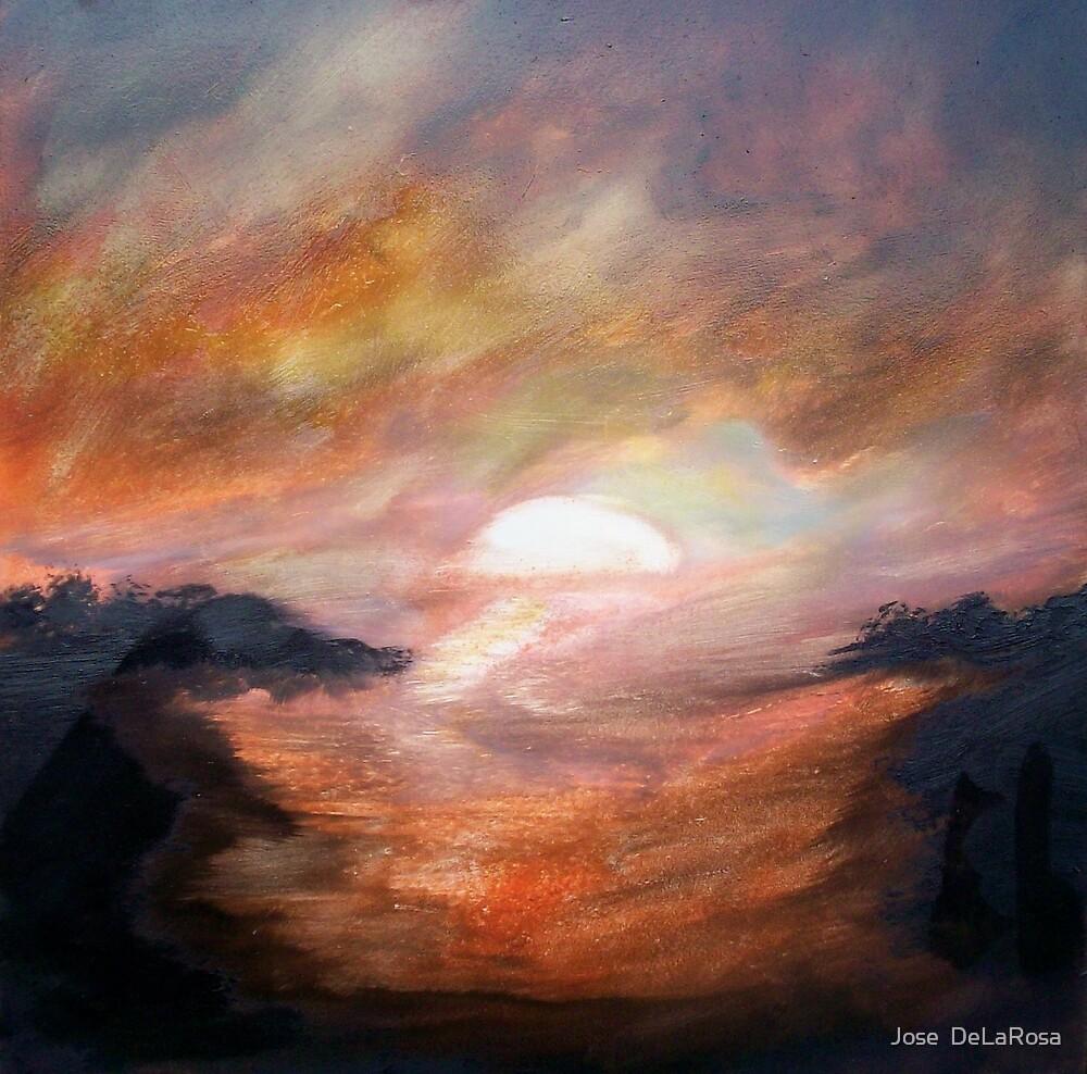 Melting Sun by Jose  DeLaRosa
