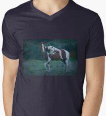Where Dreams and Shadows Lie V-Neck T-Shirt