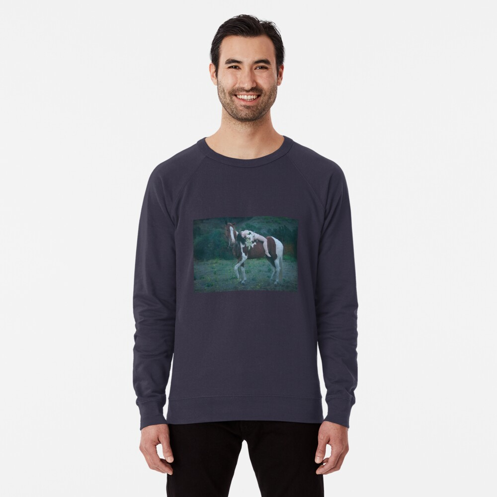 Where Dreams and Shadows Lie Lightweight Sweatshirt