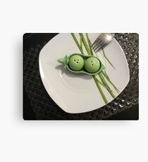 Luncheon Date Canvas Print