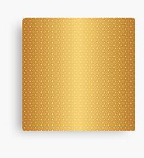 Art Deco, Simple Shapes Pattern 1 [RADIANT GOLD]  Canvas Print