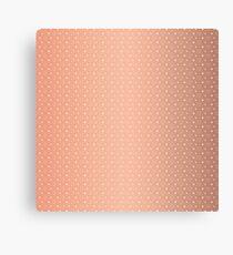 Art Deco, Simple Shapes Pattern 1 [ROSE GOLD] Canvas Print