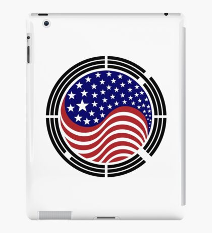 Korean American Multinational Patriot Flag Series iPad Case/Skin
