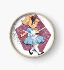 Angie in Wonderland Clock