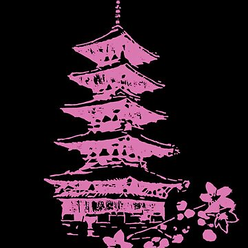 Pink Pagoda by s7ereo