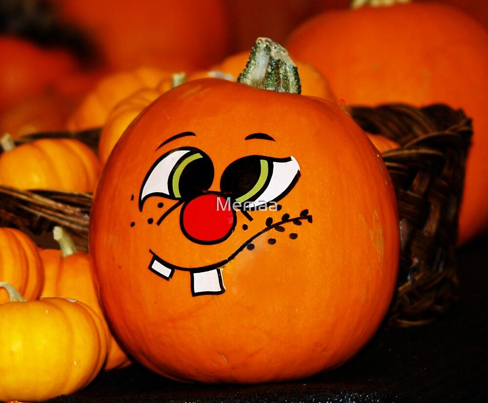 Cross Eyed Pumpkin by Memaa
