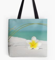 Frangipani Summer Tote Bag