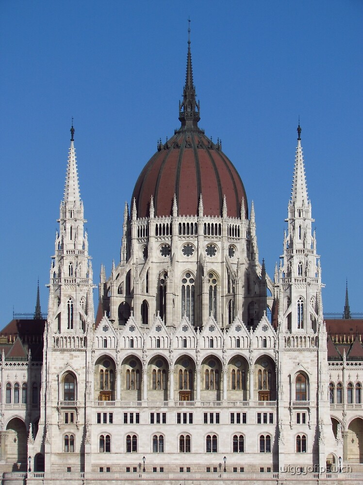 Gothic Revival, Budapest by wiggyofipswich