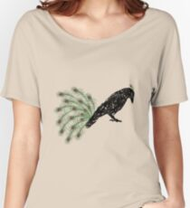 Funny Crow Women's Relaxed Fit T-Shirt
