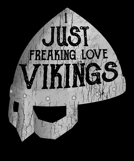 freaking love vikings distressed christmas viking by roarr - Viking Christmas