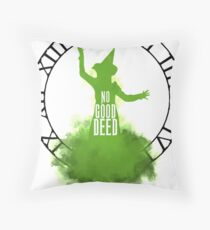 Wicked - No Good Deed Throw Pillow