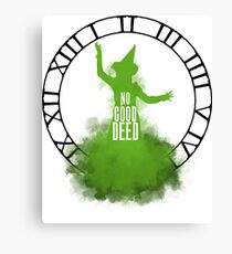Wicked - No Good Deed Canvas Print