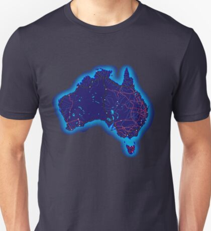 Australia by night T-Shirt