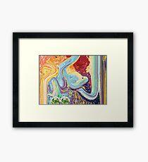 Al Hakeem Allah name Painting Framed Print