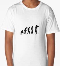 Photographer evolution Long T-Shirt