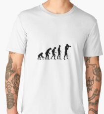 Photographer evolution Men's Premium T-Shirt