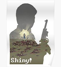 Pixel River of Death. Firefly Poster