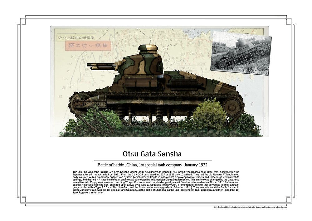 Ostu Gata Sensha battle of Harbin 1932