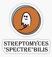 "Streptomyces ""Spectre""bilis Sticker"