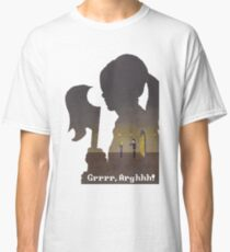 Pixel Buffy kills Angel Classic T-Shirt
