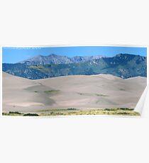 #573  Dunes & Mountains Of Colorado Poster
